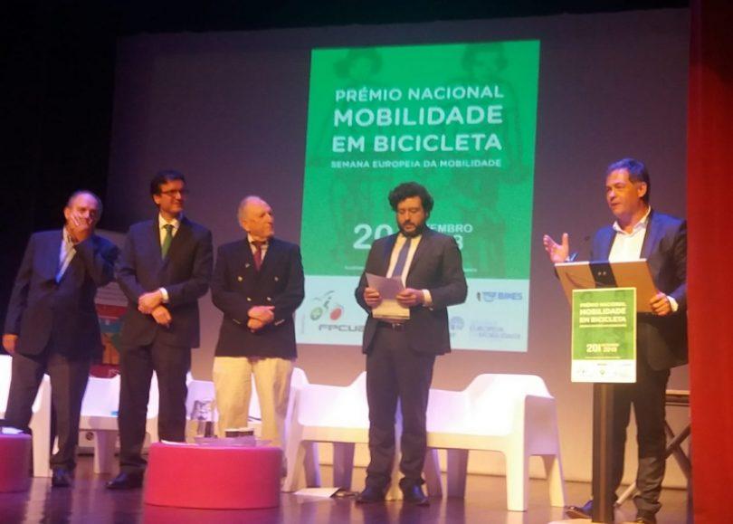 CIM Região de Coimbra recebe Prémio Nacional – Mobilidade em Bicicleta