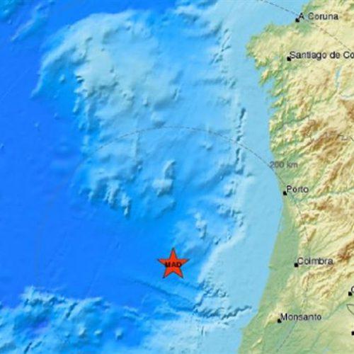 Sismo de 4,6 sentido no Norte e Centro de Portugal