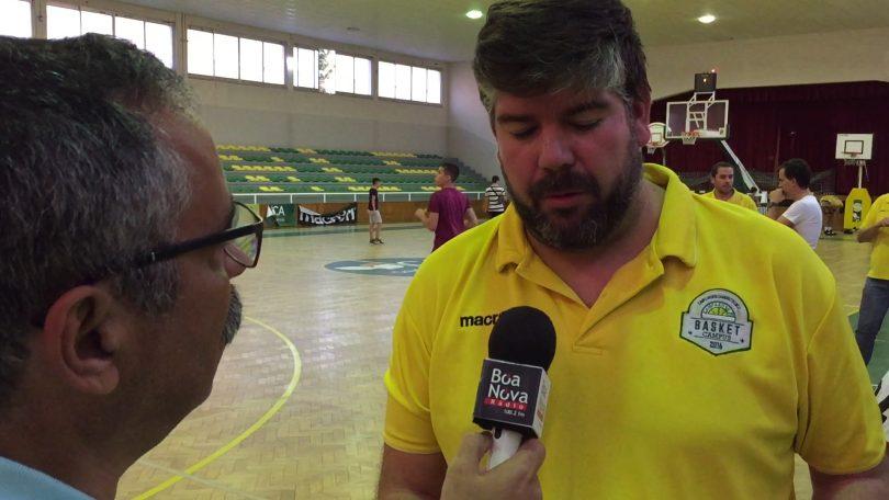 Cláudio Figueiredo promete trabalho e empenho na nova época do Sampaense Basket (com vídeo)