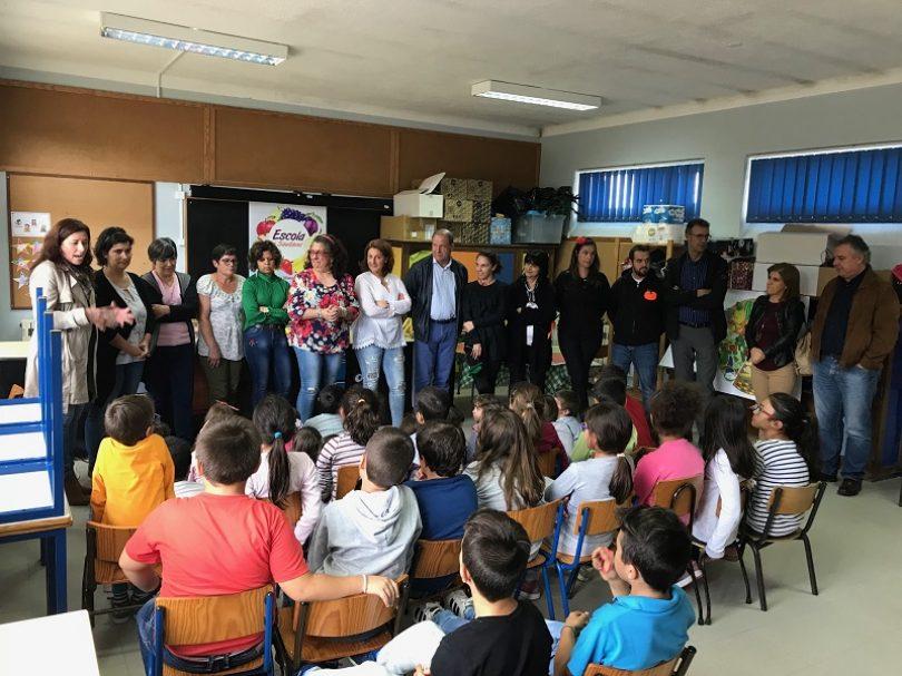 """Município de Oliveira do Hospital lança programa """"Escola + Saudável"""""""
