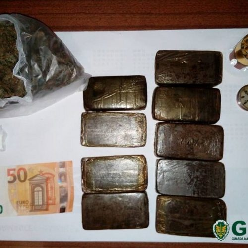Dez detidos por tráfico de estupefacientes em Seia e Manteigas