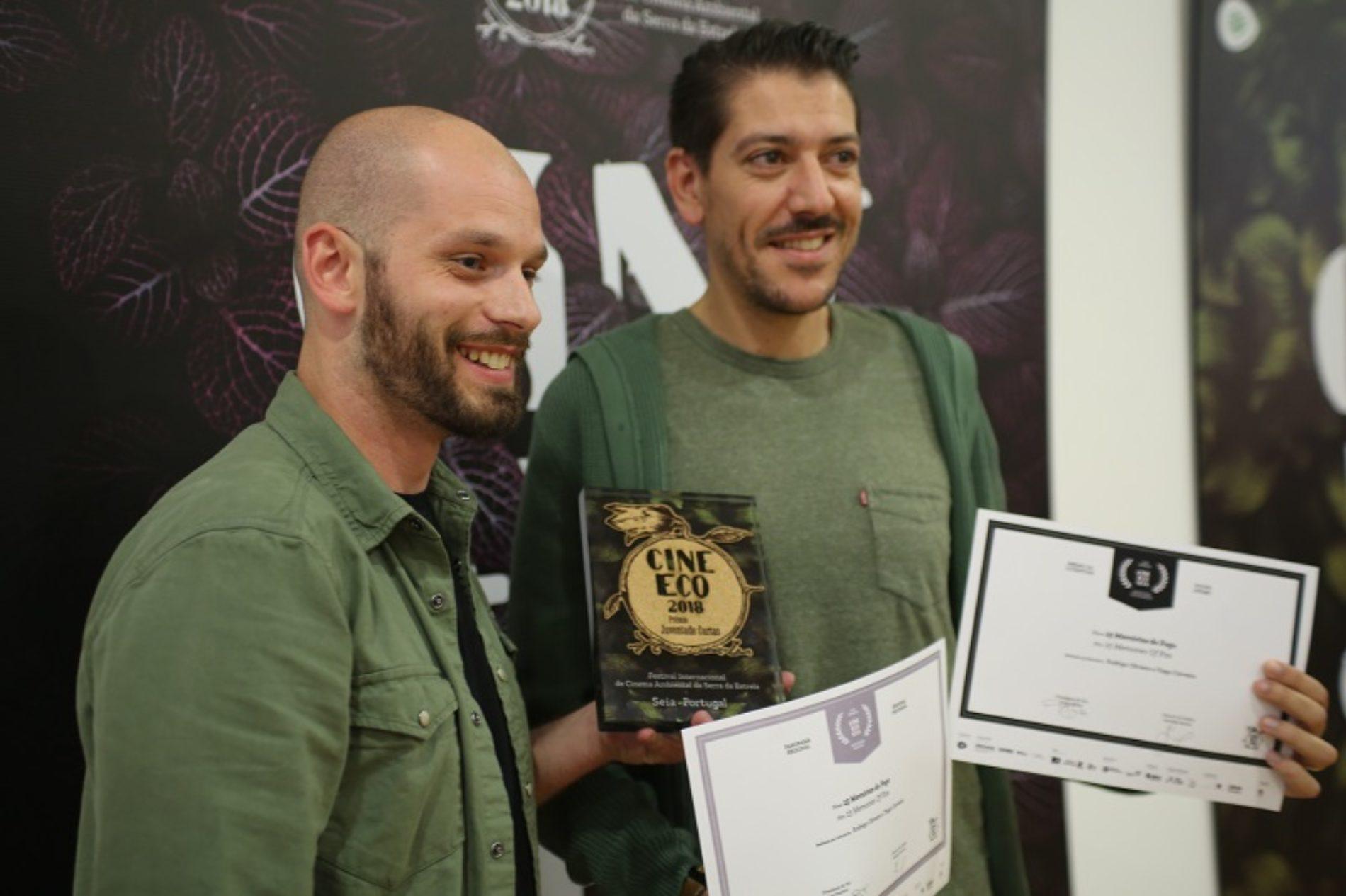 """Websérie """"15 Memórias do Fogo"""" recebeu dois prémios no CineEco"""