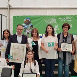 Arganil entre os dois concelhos do país 100% Eco-Escolas