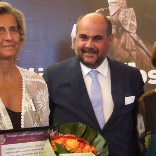 """Ana Abrunhosa partilhou """"medalha de ouro"""" com equipa da CCDRC e Câmara Municipal de Oliveira do Hospital"""