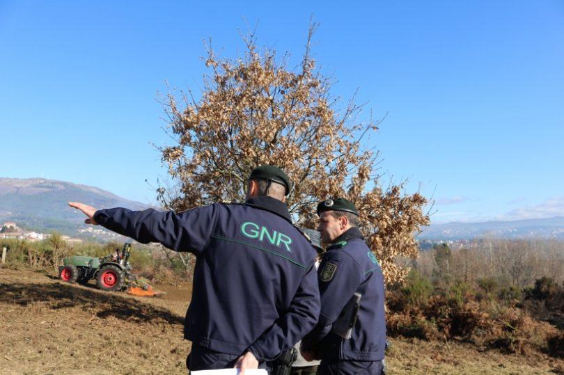 GNR reforça patrulhamento para a prevenção de incêndios florestais