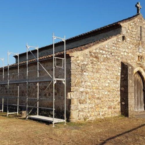 Câmara de Arganil iniciou a beneficiação da Capela de São Pedro