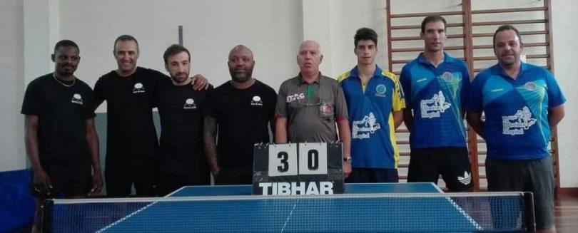 Ténis de Mesa: Equipa do CCPOH afastada da Taça de Portugal