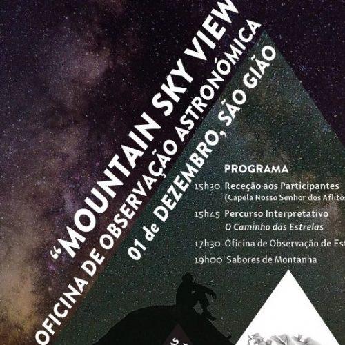 """S. Gião: Observação noturna de estrelas """"Moutain Sky View"""" no próximo sábado"""