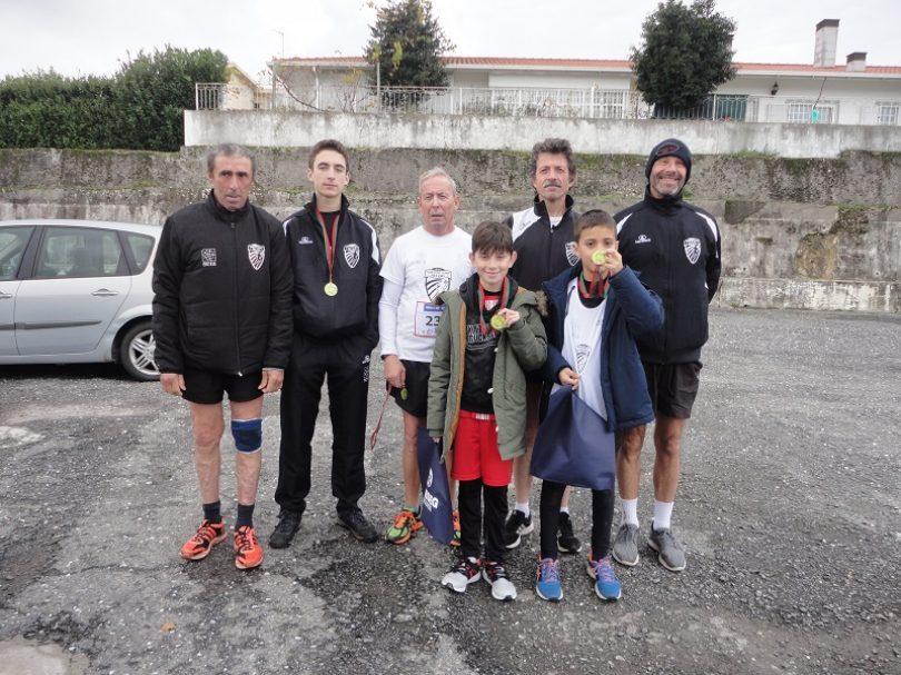 Maratona Clube Vila Chã participou no Trail Giro do Horizonte e no 42º Grande Prémio de Atletismo