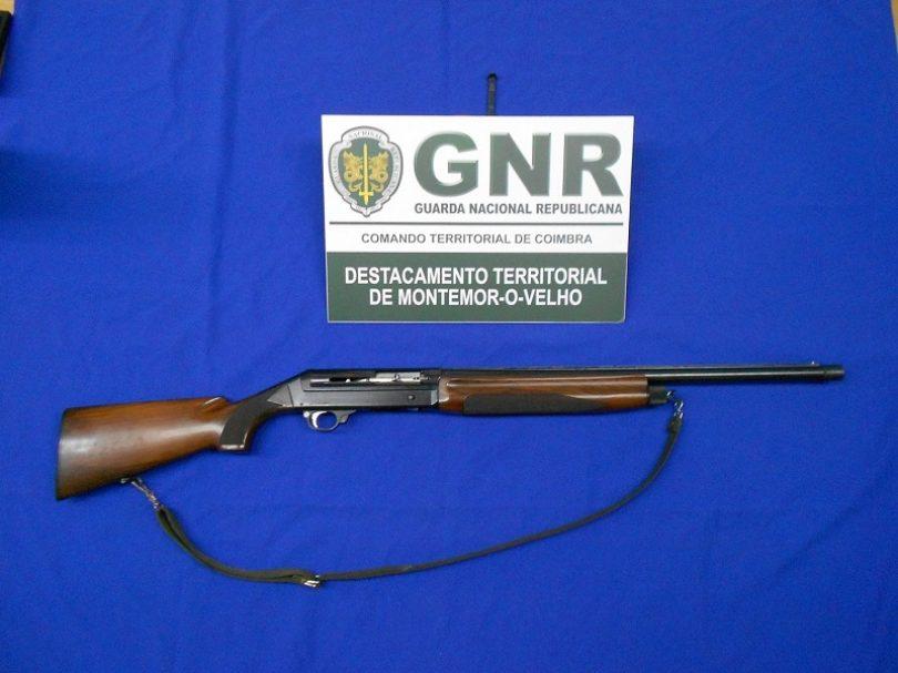Montemor-o-Velho: GNR apreende arma de fogo