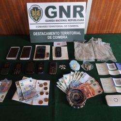 Coimbra: Três homens detidos por posse de estupefacientes