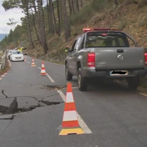 Derrocada Serra da Estrela: EN338 reaberta mas com circulação condicionada