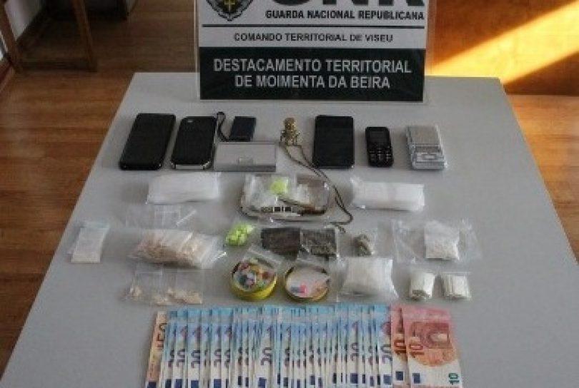 Região: GNR deteve três pessoas por tráfico de estupefacientes