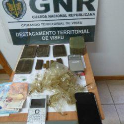 Viseu: Dois homens detidos por tráfico de estupefacientes