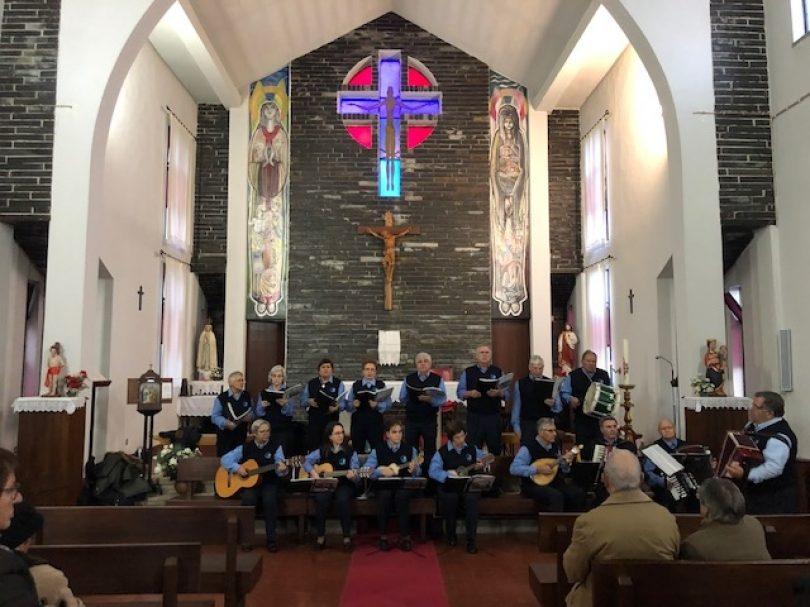 Cantares de Natal e Janeiras na Aldeia aqueceram corações em Benfeita e Cepos
