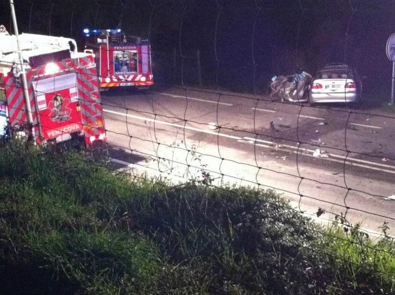 Colisão provoca um morto e quatro feridos no IP3 em Penacova