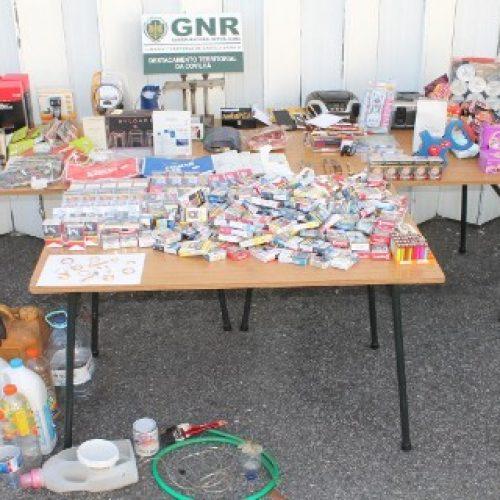 Um homem e uma mulher são suspeitos de 25 furtos na Covilhã
