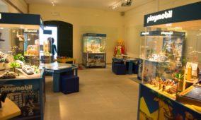 Playmobil em exposição no Museu do Brinquedo de Seia