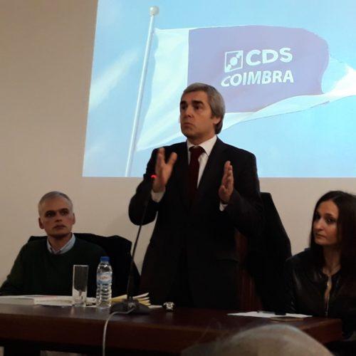 Nuno Melo arrancou em Coimbra rumo às europeias