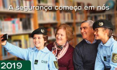 GNR e EDP distribuem calendários a idosos alertando para a prevenção de burlas