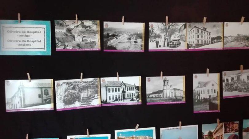 Postais ilustrados estão em exposição no Museu Municipal Dr. Antº Simões Saraiva