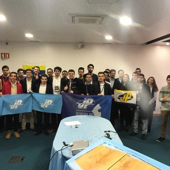 Rafael Dias tomou posse na Comissão Política Distrital da Juventude Popular