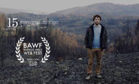"""""""15 Memórias do Fogo"""" presente no Buenos Aires Web Festival"""