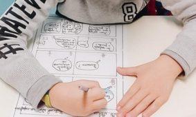 Alunos de Nelas criam banda desenhada sobre hábitos de alimentação saudável