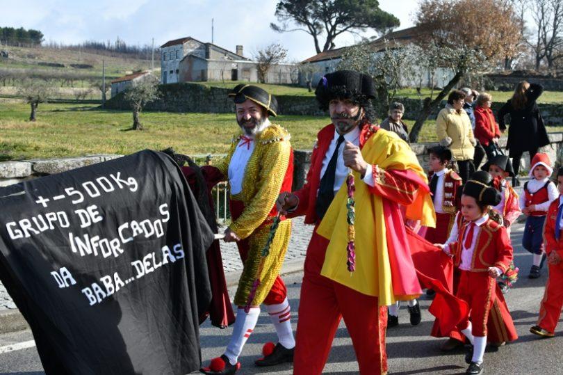 Agrupamento de Escolas conta com 1500 figurantes em mais um desfile de Carnaval