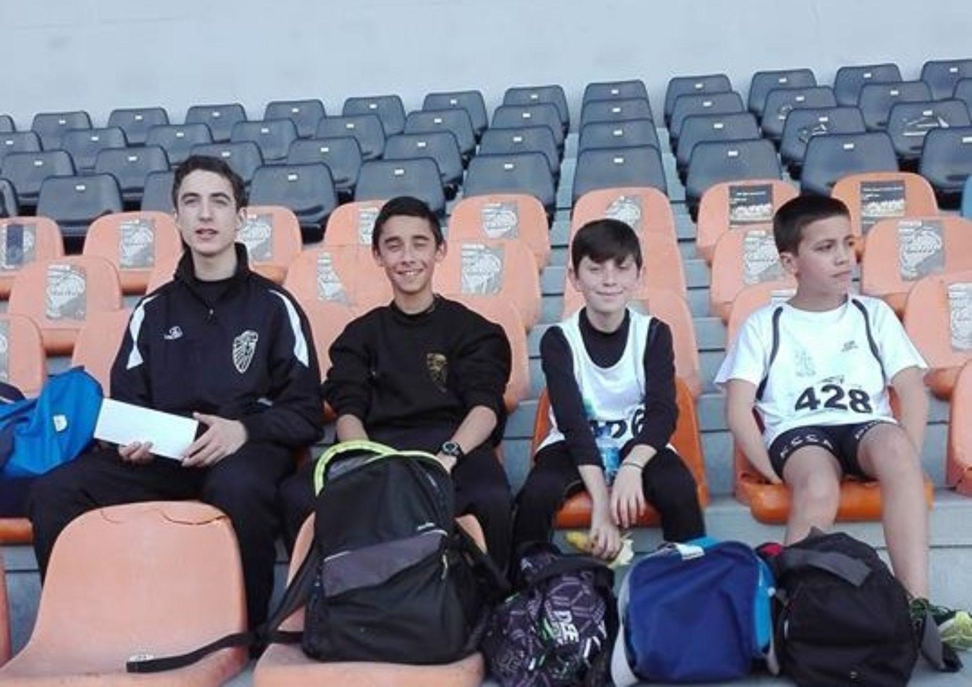 Maratona Clube Vila Chã participou no Campeonato Nacional de Corta Mato Curto