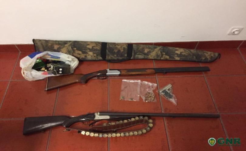 Carregal do Sal: Homem detido por posse ilegal de armas