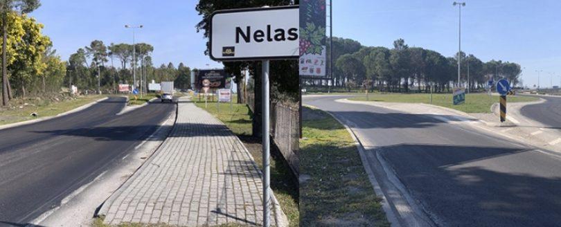 Município promove requalificação da variante de Nelas