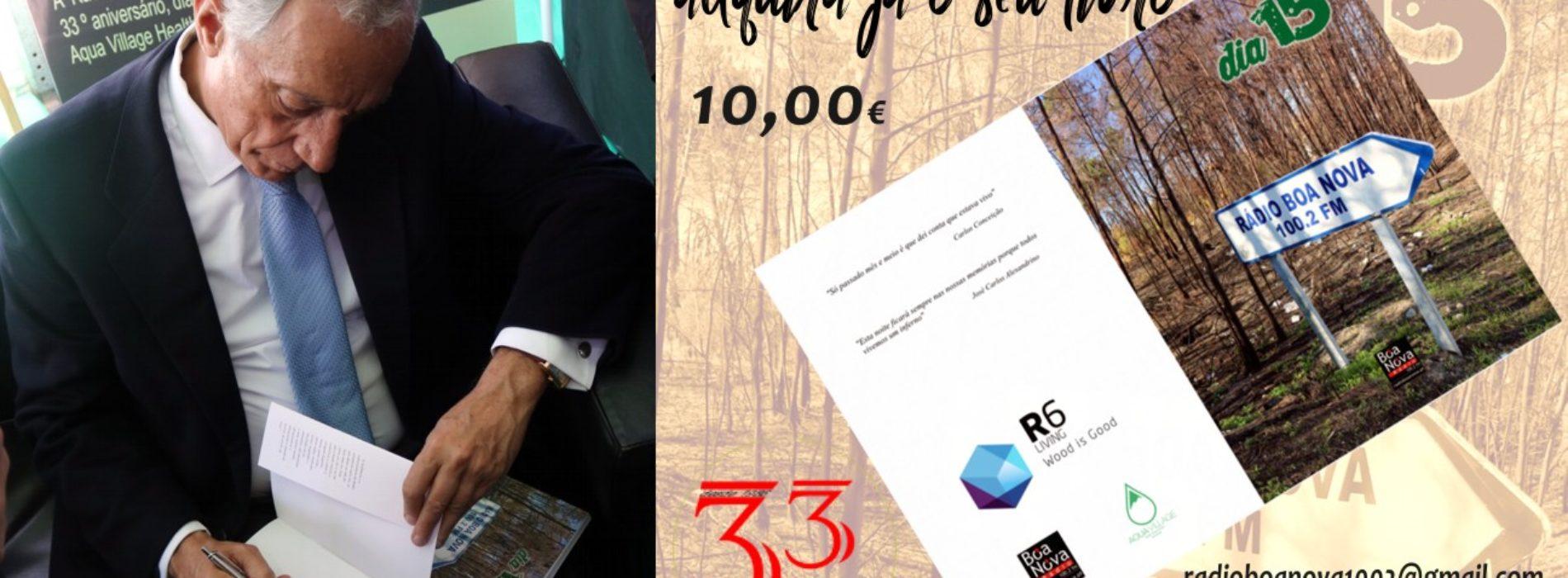 """Livro  """"Dia 15"""" editado pela Rádio Boa Nova , vai estar disponível para venda em diversos locais da cidade"""