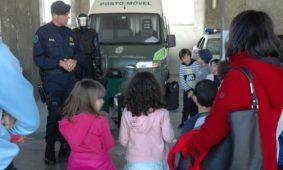 Alunos visitaram a GNR em Coimbra