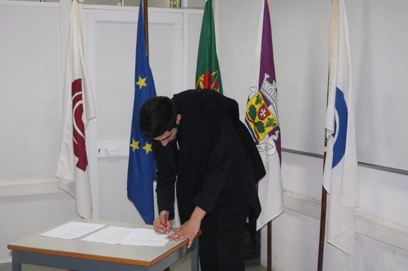 Daniel Bulhões é o novo presidente da Associação de Estudantes da ESTGOH