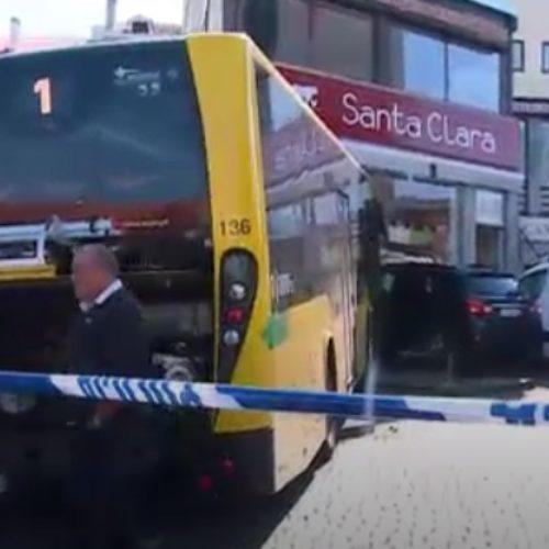 Despiste de autocarro no centro de Viseu provoca três feridos