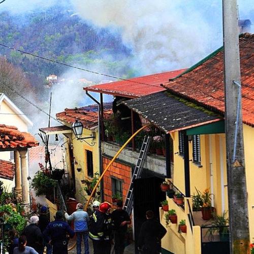 Incêndio em habitação desalojou família em Santa Comba Dão