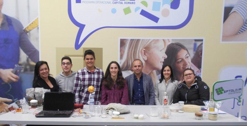 Eptoliva apresentou práticas inovadoras na Futurália, a maior Feira Nacional de Educação