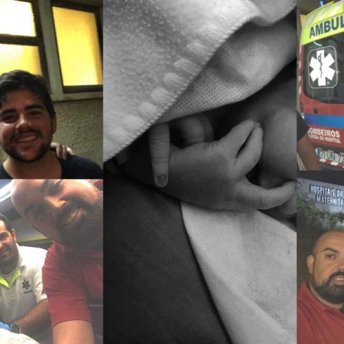 Bebé nasceu em ambulância dos Bombeiros de Oliveira do Hospital a caminho da maternidade