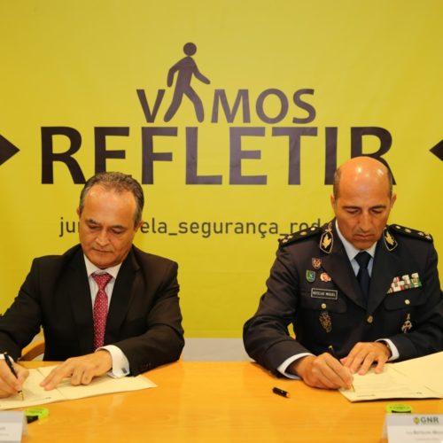"""GNR e IP promovem campanha de Segurança Rodoviária """"Vamos Refletir"""""""