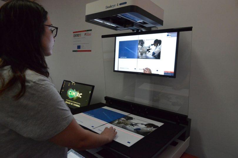 CIM Região de Coimbra tem centro de digitalização de grandes formatos