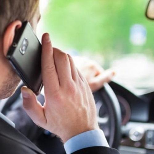 Mais de 600 condutores apanhados com o telemóvel