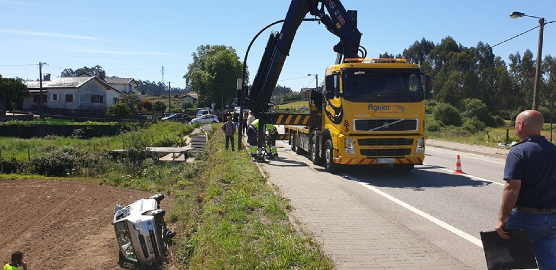 Dois feridos em colisão no IC2 em Albergaria-a-Velha