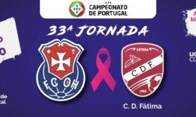 Receita do último jogo do FCOH em casa reverte a favor da Liga Portuguesa Contra o Cancro