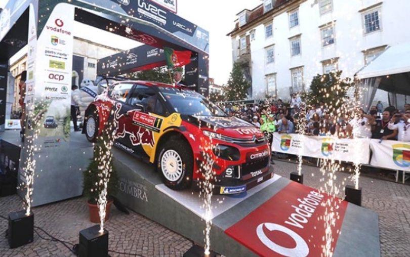 Rally de Portugal: Pilotos e carros já estão na estrada