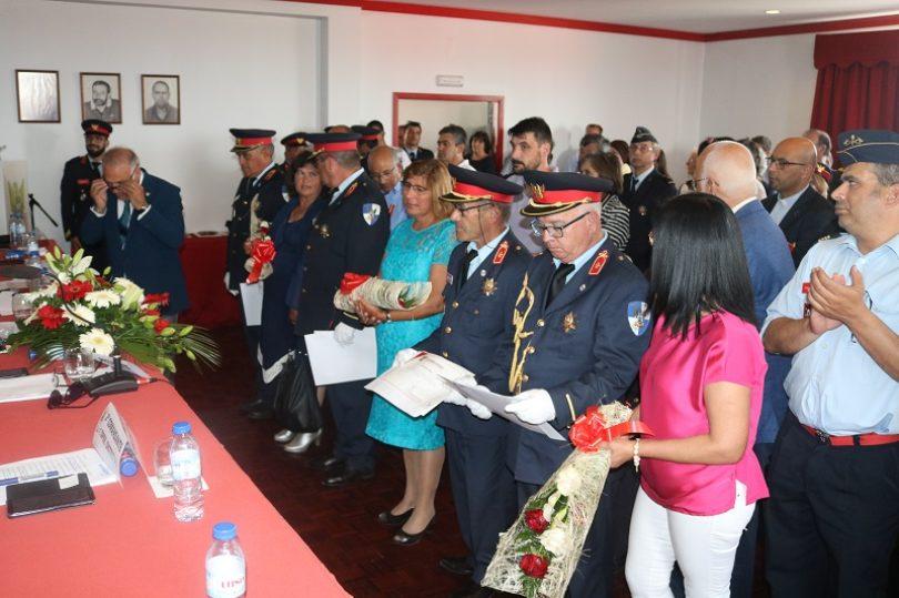 Inauguração de nova viatura marcou 73º aniversário dos Bombeiros de Lagares da Beira