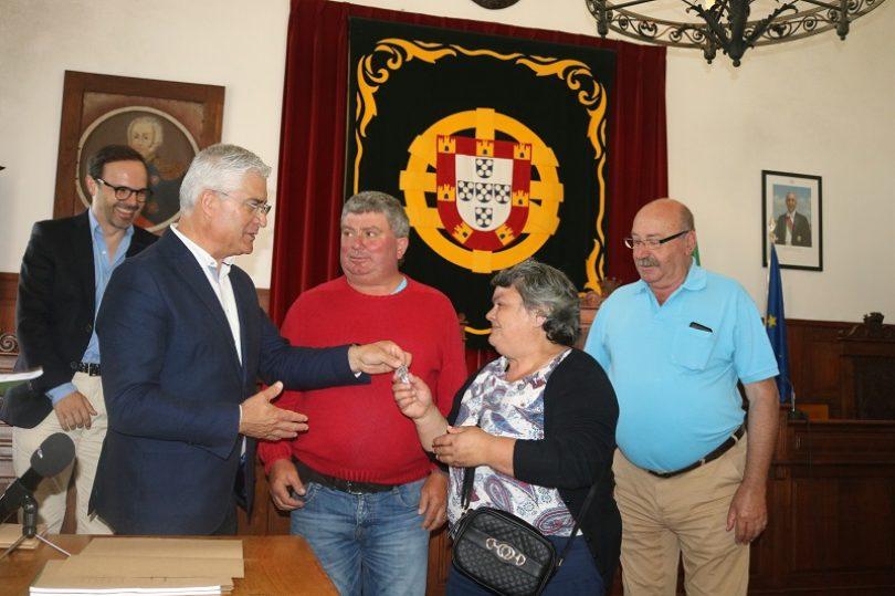 Incêndios: Mais seis habitações entregues no concelho de Tábua