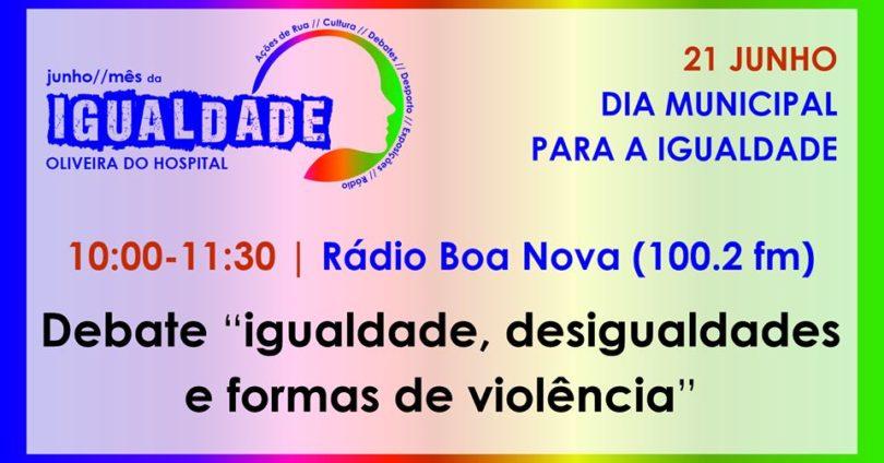 """""""Igualdade, desigualdades e formas de violência"""" em debate na Rádio Boa Nova"""