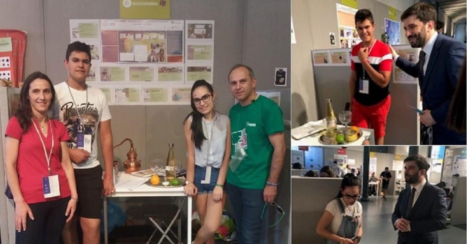 EPTOLIVA é a melhor Escola Profissional na Mostra Nacional de Ciência e representa Portugal no Brasil