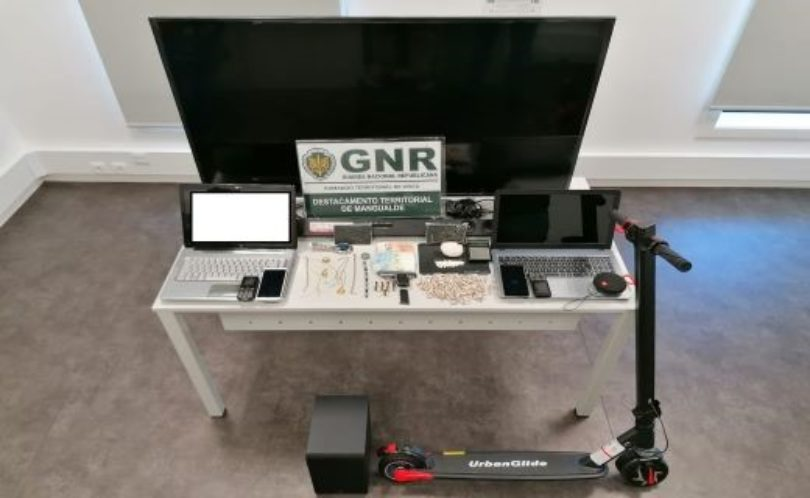 Mangualde: GNR deteve três suspeitos de tráfico de droga